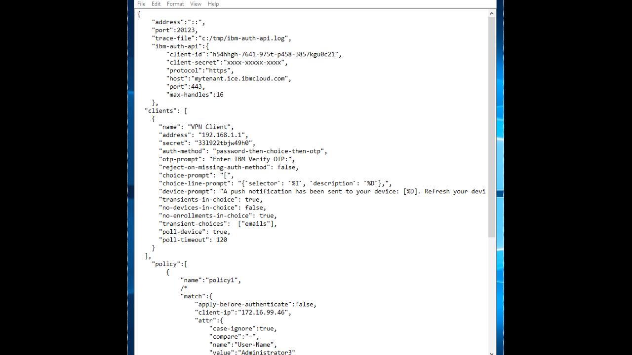 IBM Security App Exchange - IBM Verify Gateway for RADIUS