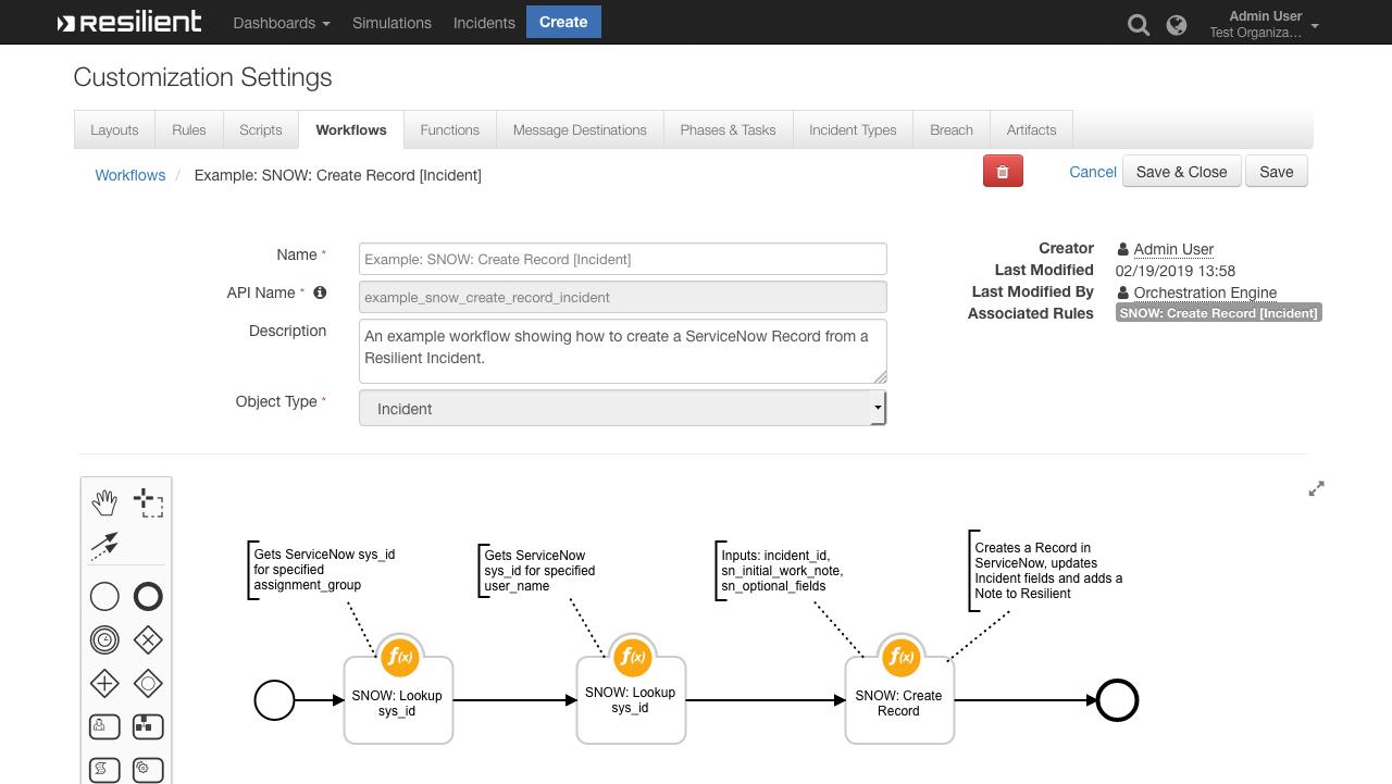 IBM Security App Exchange - ServiceNow Functions for IBM