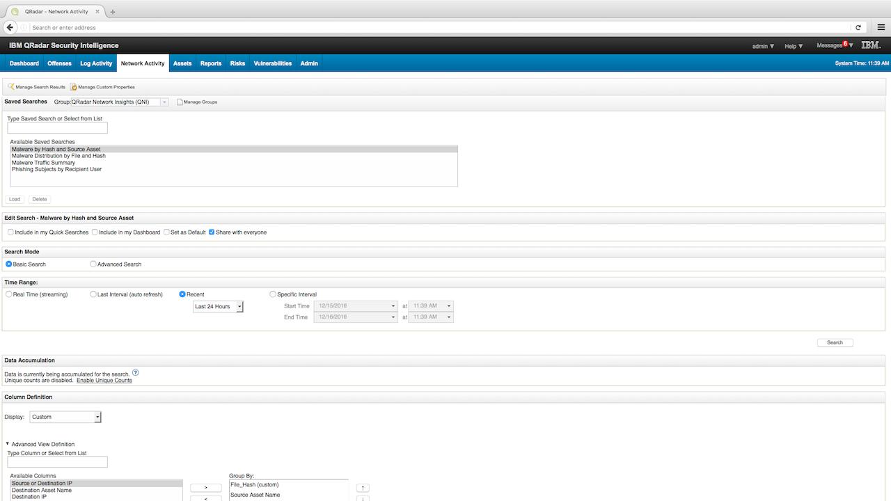 IBM Security App Exchange - QRadar Network Insights Content