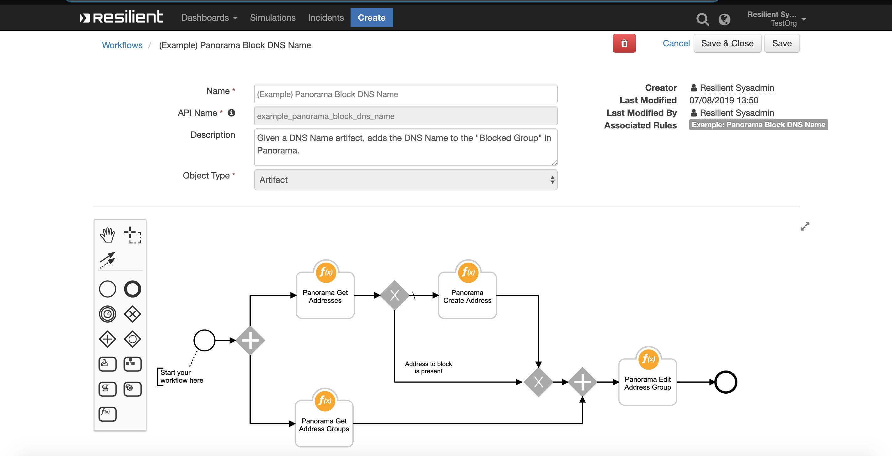 IBM Security App Exchange - Palo Alto Networks Panorama Integration