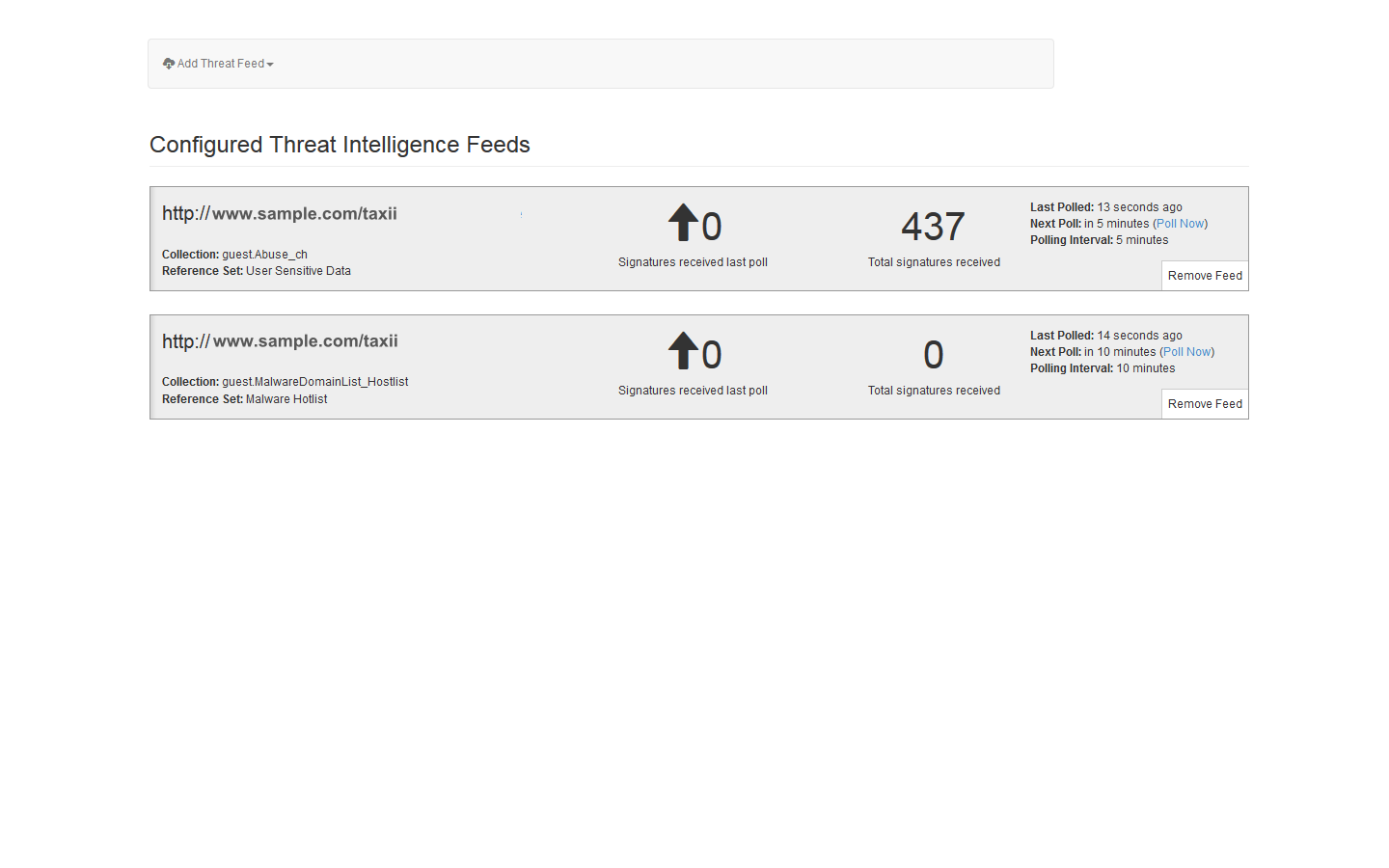 IBM Security App Exchange - Threat Intelligence