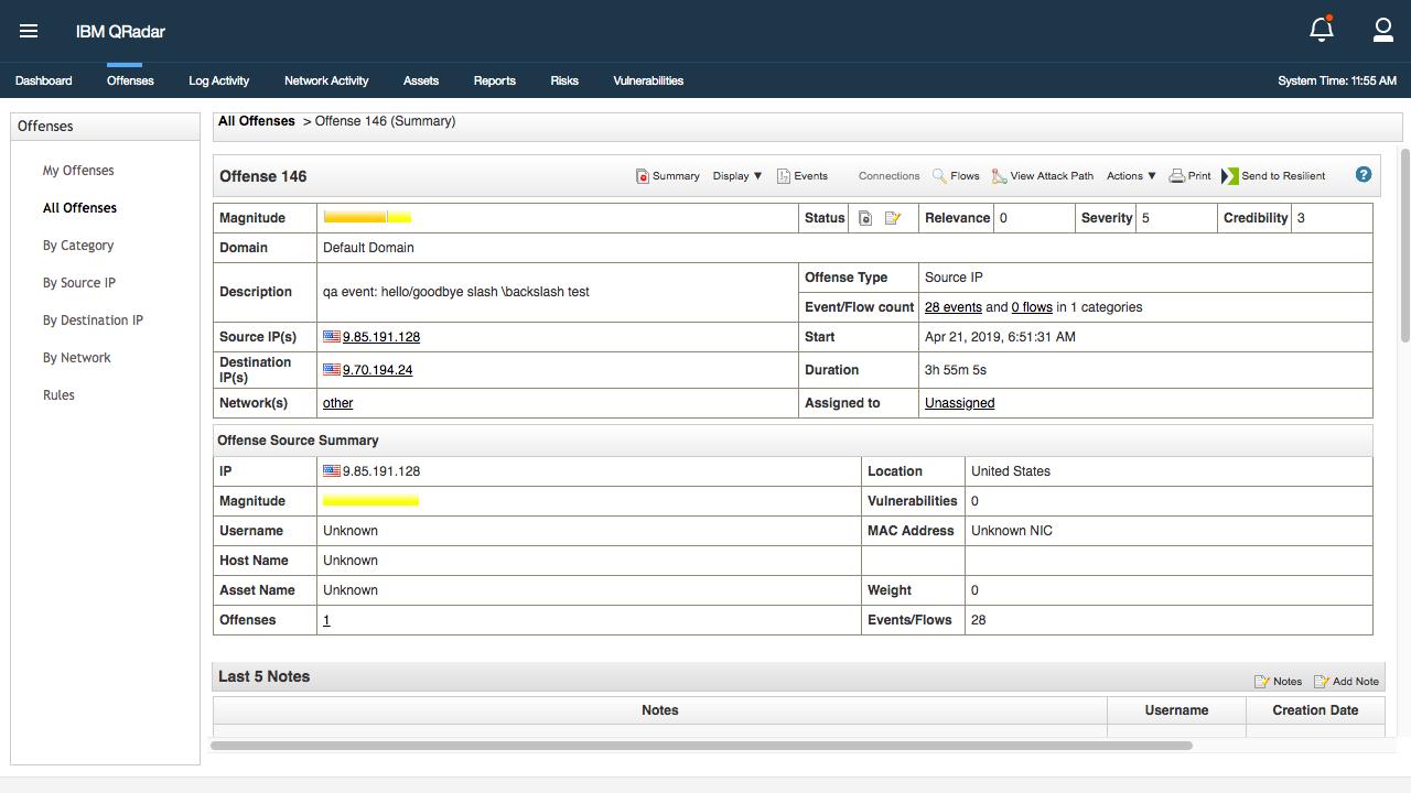 IBM Security App Exchange - IBM Resilient QRadar Integration