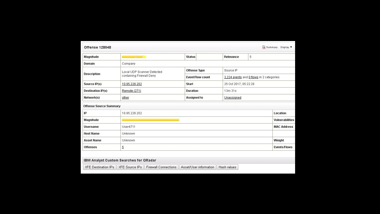 IBM Security App Exchange - Analyst Custom Searches for QRadar